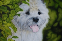 Cairn-Terrier-Body op Trespa