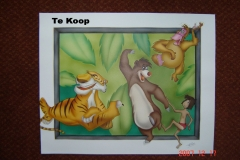 jungle-book op papier 40x50 cm